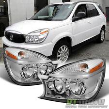 2002-2007 Buick Rendezvous Headlights Headlamps Replacement 02-07 Set Left+Right