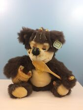 Vintage Very RARE Orzek Honey Bear 1990 Great Condition With Tags! $50 Price Tag