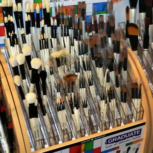 Daler Rowney Graduate Brushes - 54 to choose from