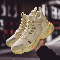 Men's High Top Shoes Casual Shoes Athletic Sneakers Sports Fashion Breathable