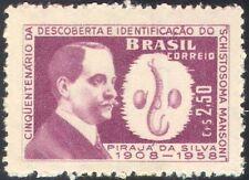 Brazil 1959 P da Silva/Bladder Fluke/Medical/Health/People/Welfare 1v (n28013)
