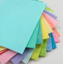 "15 - 9""X12"" Easter Colors Collection - Merino Wool blend Felt Sheets"