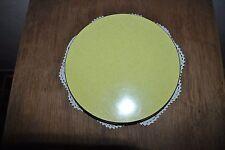 VINTAGE - DESSOUS DE PLAT - POSE-PLAT ANNÉES 60-70 - STRATIFIE JAUNE - FORMICA