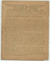 HAWAII WWII HIKI NO Navy Seabees 136th Naval Construction Battalion Newspaper #4