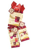 3 Pack Christmas Holiday Gift Bags & Tags