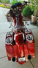 """4"""" Stretched Fender with Recessed LED Brake Lights For HD Street Glide CVO FLHX"""