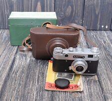 MINT! ZORKI 5 Industar 50 Rangefinder Film Camera in BOX - VERY RARE CONDITIONS!