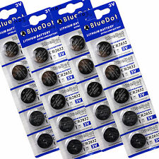 Cr 2032 Lithium Button Cell Coin Battery 3v Ships From Usa ~ Qty 20 x Cr2032