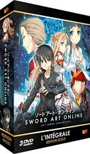 ★Sword Art Online ★ Arc 1 (SAO) - Edition Gold - Coffret 3 DVD