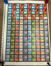MTG: Magic Gathering ARENA uncut 100 cards sheet Incinerate Disenchant *RARE* Xx