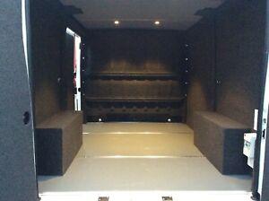 Easy Trim Anthracite Carpet & Glue For Van Lining in VW Camper Boat Race Van