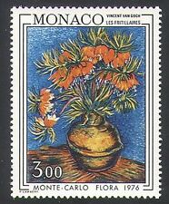 MONACO 1976 Vincent Van Gogh/Fiori/NATURA/Piante/ARTE/PITTURA/PEOPLE 1v n34187