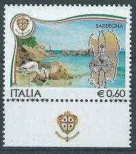 2007 ITALIA VARIETà SARDEGNA MNH ** - RR3684-5