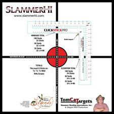 Click Stick Pro Shooters Tool & 10 Targets  Save Bullets sight in gun fast CSPT1