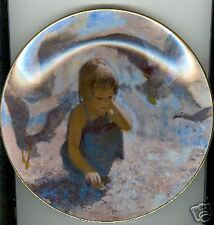 Viletta Collector Plate Precious Moments Seashells Utz