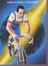CYCLISME carte CHRISTOPHE LAVAINNE (equipe CASTORAMA ) 1992