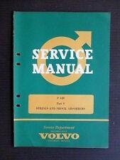 "VOLVO "" P 120 "" 1963 Original Factory SERVICE MANUAL  Part 9, Rare"