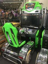 POWER TRUCK ARCADE MACHINE - IGS - AMAZING CONDITION - TRUCK DRIVING GAME