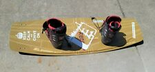 Classic 2012 Slingshot Recoil 138 Wakeboard With SS Driver Boots Size 9 Men