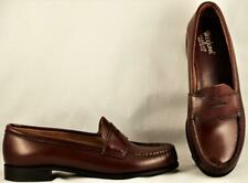 Women's Bass Weejuns Vintage Cordovan Penny Loafers US 7.5 B