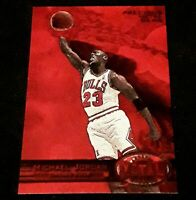 1997-98 Precious Metal Gems 52/100 Michael Jordan (REPRINT) Super Sharp!! 🔥
