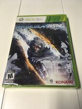 Metal Gear Rising (Xbox 360) Brand New Factory Sealed 019 SHIP TODAY!