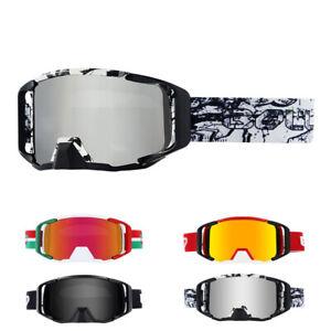 Windproof Dustproof Bike Goggles Cycling Sunglasses MTB BMX XC Off-Road Eyewear