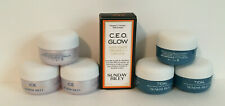 Sunday Riley: Ice Ceramide Moisturizing, C.E.O. Glow (1) & Tidal Brightening (3)