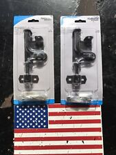 Gate Shed Fence Door Latch Hardware Black Slide Bolt Sliding Lock Secure Close