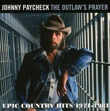 Johnny Paycheck - The Outlaws Prayer - Epic C (NEW CD)