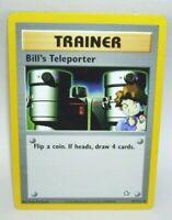 Pokemon Card Trainer  Bill's Teleporter Trainer  No. 91/111 1995 - 2000 Nintendo