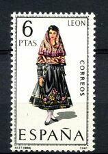 Spain 1969 SG#1958 Provincial Costumes Leon MNH #A40023