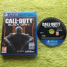 CALL OF DUTY BLACK OPS III 3 PLAYSTATION 4 PS4 FPS SHOOTER FAST POST