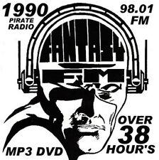 RAVE  ACID HOUSE 2 DISC MP3 DVD SET OLD SKOOL FANTASY FM 1990