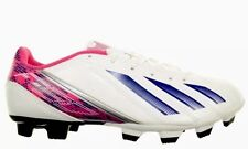 ADDIDAS Womens Comfort F5 TRX FG W Soccer Cleats Size 7 WHITE/PINK It/187