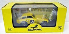 1950 Ferrari 166 MM Le Mans yellow 1/43 Art Model ART016 MB