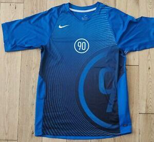 Mens Boys Dri Fit Nike Total 90 T Shirt - Size XL (Age 13/15) Blue.