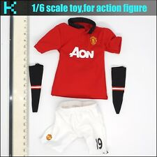 L35-14 1/6 scale ZCWO Manchester united #19 Welbeck Football shirt set