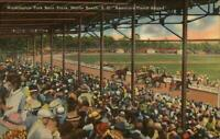 Myrtle Beach SC Washington Horse Racing Track Linen Postcard