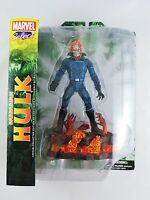 Barbarian Hulk as Ghost Rider figure Factory Packaging Error MARVEL SELECT MIP