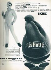 M- Publicité Advertising 1967 Les magasins de sport La Hutte .. Ski