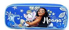 Disney Moana Pencil Case Zippered Bag -Blue