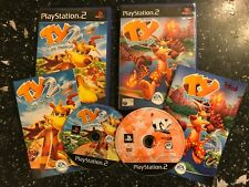 2 PAL PLAYSTATION 2 PS2 GAMES TY THE TASMANIAN TIGER 1 / I + 2 / II BUSH RESCUE