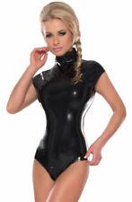 Erotik-Damenunterwäsche mit Reißverschluß aus Latex in Größe 2XL