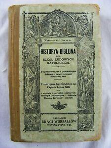 CATHOLIC BIBLE POLISH 1887