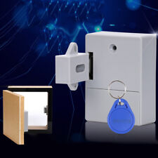 Battery RFID Cabinet Drawer Lock DIY Hidden Digital Lock without Perforate Hole&