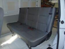 VW T5 Transporter Van 3 Person Rear Seat with Inbuilt Seat Belts All About Vans