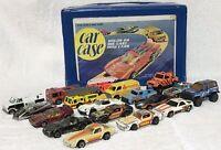 Vintage Car Lot Hot Wheels 1974 Paramedic CPG Matchbox Case Stingray 88 Suzuki