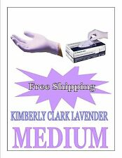 Kimberly Clark/Halyard Lavender Nitrile Exam GLoves Size MEDIUM-Free Shipping