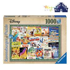 Ravensburger Disney Vintage Movie Posters 1000 Pieces Jigsaw Puzzle (RB19874-0)